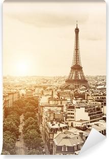 Abwaschbare Fototapete Eiffel aus dem Arch of Triumph
