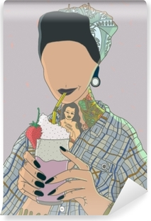 Abwaschbare Fototapete Faceless Frau - Ricardo X Parker