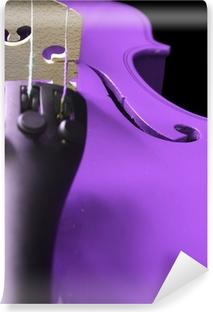 Abwaschbare Fototapete Lila Violin
