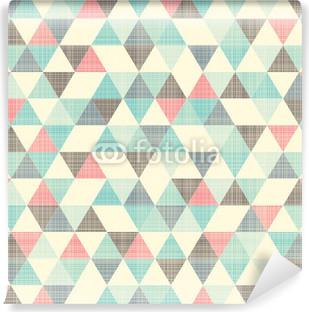 Abwaschbare Fototapete Nahtlose geometrische Muster.