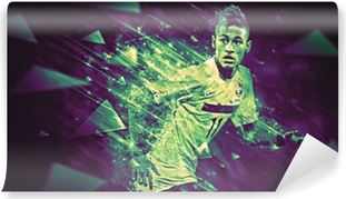 Abwaschbare Fototapete Neymar