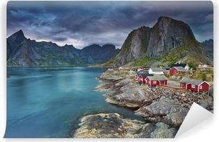 Abwaschbare Fototapete Norwegen