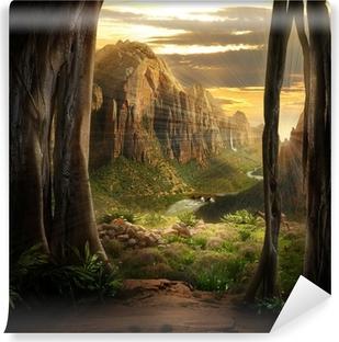 Abwaschbare Fototapete Phantasy Landscape