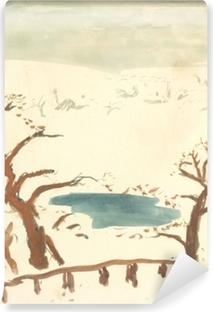 Abwaschbare Fototapete Pierre Bonnard - Winterlandschaft