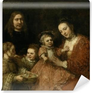 Abwaschbare Fototapete Rembrandt - Familienbildnis