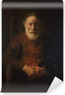 Abwaschbare Fototapete Rembrandt - Porträt eines alten Mannes in Rot