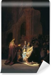 Abwaschbare Fototapete Rembrandt - Simeon im Tempel