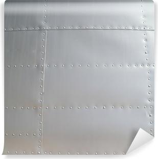 Abwaschbare Fototapete Stahl & Nieten Hintergrund