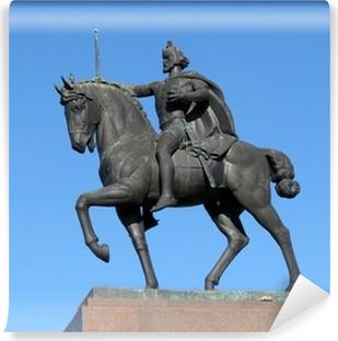 Abwaschbare Fototapete Statue des Königs Tomislav Reiten, Zagreb, Kroatien