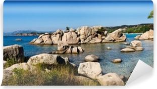 Abwaschbare Fototapete Strand von Palombaggia, Korsika