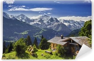 Abwaschbare Fototapete Sulwald, Schweiz