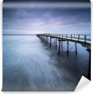 Abwaschbare Fototapete Verschwindender Pier