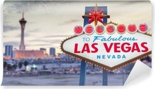 Abwaschbare Fototapete Willkommen in Las Vegas Zeichen