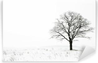 Abwaschbare Fototapete Winter Einsamkeit