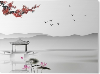 Chinese painting Acrylic Print