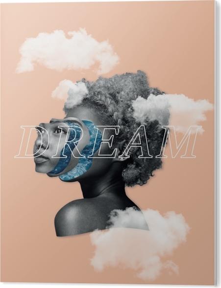 Dream Acrylic Print - Motivations