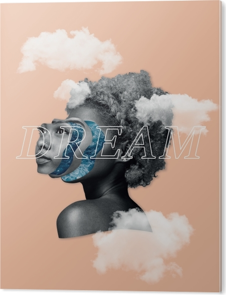 Dream Acrylic Print - Motivations