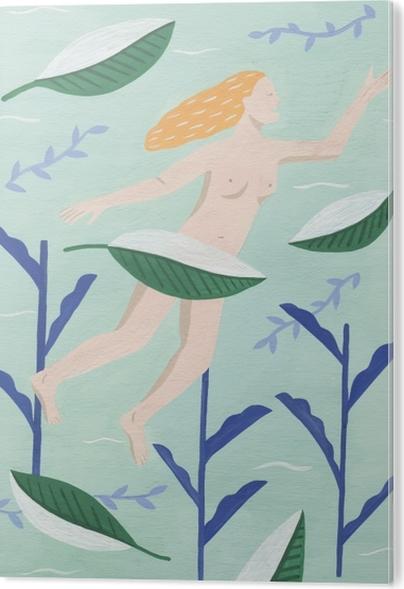 Follow nature - Mathilde Acrylic Print - Contemporary artists