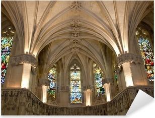 Adesivo Pixerstick Amboise castle.Chapel dove è sepolto Leonardo da Vinci.