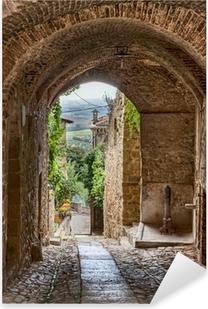 Adesivo Pixerstick Antico vicolo italiano