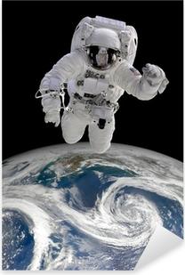 Adesivo Pixerstick Astronauta nello spazio
