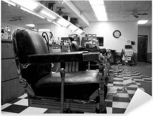 Adesivo Pixerstick Barber shop