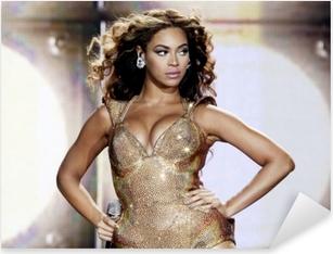 Adesivo Pixerstick Beyonce