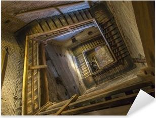 Adesivo Pixerstick Bologna - Scale di Torre Asinelli