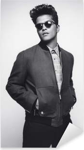 Adesivo Pixerstick Bruno Mars