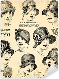 Adesivi Cappello bombetta • Pixers® - Viviamo per il cambiamento 57887f8a5755