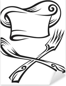 Adesivi Cappello da cuoco • Pixers® - Viviamo per il cambiamento 182d3cbfede5