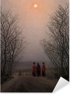Adesivo Pixerstick Caspar David Friedrich - Mattina di Pasqua