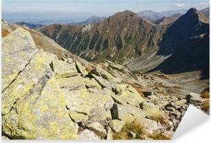 Adesivo Pixerstick Cime in Western Tatra