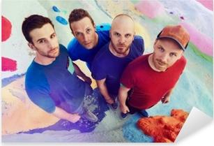 Adesivo Pixerstick Coldplay