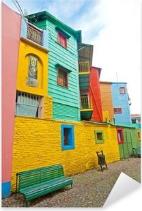 Adesivo Pixerstick Colorful La Boca, Buenos Aires