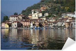 Adesivo Pixerstick Comune di Peschiera, sul lago d'Iseo, Italia