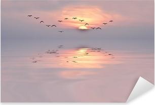 Adesivo Pixerstick Dawn of colori tenui