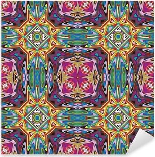 Adesivo Pixerstick Design tessile moderno dall'America Latina