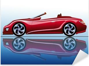 Adesivo Pixerstick Estetica rosso