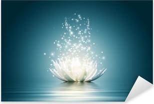 Adesivo Pixerstick Fiore di loto