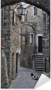 Adesivo Pixerstick Genova Caruggio