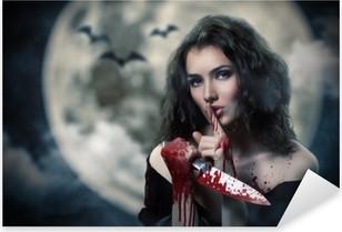 Adesivo Pixerstick Giorno di Halloween