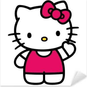 Adesivo Pixerstick Hello Kitty