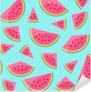 Adesivo Pixerstick Hintergrund melonen nahtlos
