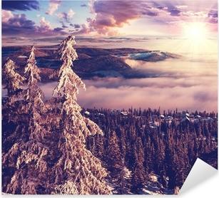 Adesivo Pixerstick Inverno in Norvegia