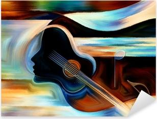 Adesivo Pixerstick Materiale di Musica