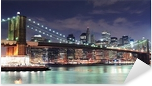 Adesivo Pixerstick New York City panorama