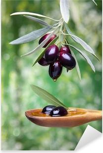 Adesivo Pixerstick Olio di oliva