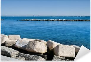 Adesivo Pixerstick Panoramic view of Bari. Apulia.
