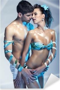 Adesivo Pixerstick Passion coppia
